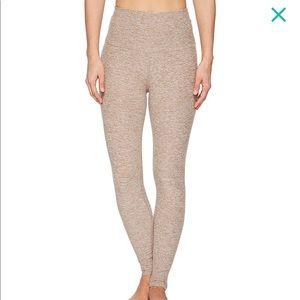 Beyond Yoga space dye high waist sz xs tan